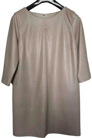 Manila Grace \N Vegan leather Dress for Women