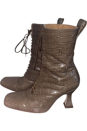 Miista \N Vegan leather Ankle boots for Women