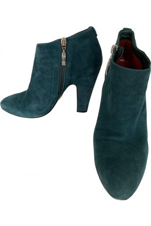 Cesare Paciotti Leather ankle boots