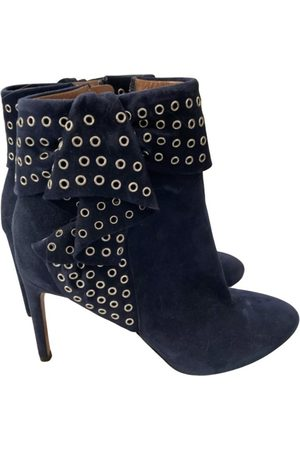 Alaïa \N Suede Ankle boots for Women