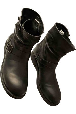 DIRK BIKKEMBERGS \N Leather Ankle boots for Women