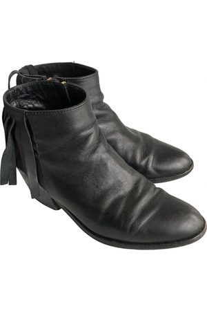 Bimba y Lola Women Ankle Boots - \N Leather Ankle boots for Women