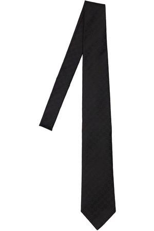 Gucci Men Neckties - 8cm Gg Pattern Silk Tie