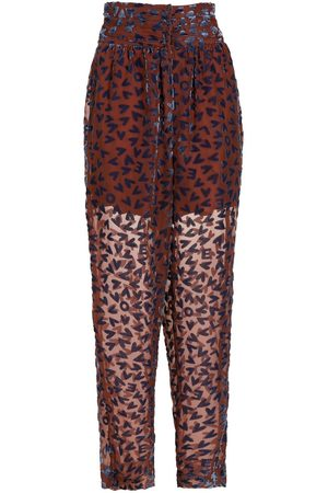 NK Print tapered trousers