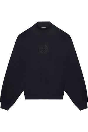 Balenciaga Logo-embroidered oversize sweatshirt