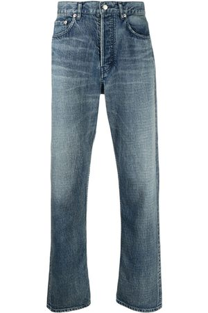 AMBUSH Men Straight - Distressed-effect straight-leg jeans