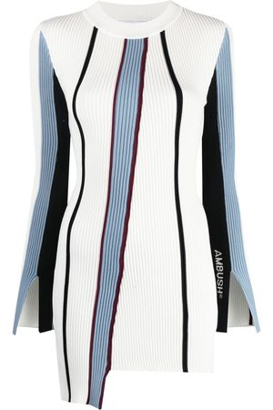 AMBUSH Vertical-stripe knitted top