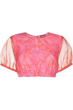 Staud Women Crop Tops - Frieze cropped top