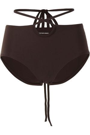 CHRISTOPHER ESBER Looped-tie bikini bottoms