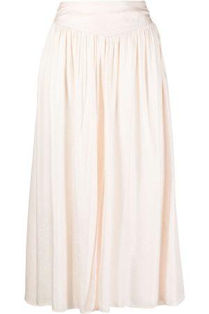 FORTE FORTE Shift midi skirt - Neutrals