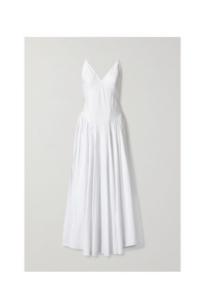 TOVE Solene Poplin Midi Dress