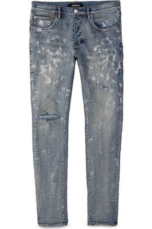 Purple Brand Painters Jeans Slim Fit in Light Indigo