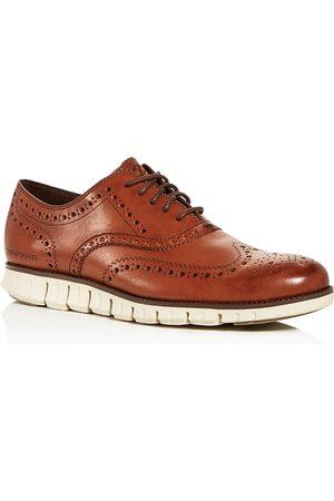 Cole Haan Men Formal Shoes - Men's ZeroGrand Wingtip Oxfords