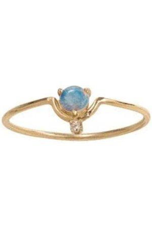 WWAKE Nestled Opal and Diamond Ring