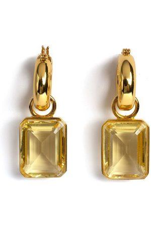 Lizzie Fortunato Jubilee Earrings in Lemon