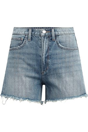 Joes Jeans Women's The Sadie Frayed Shorts - Dawn - Size 27