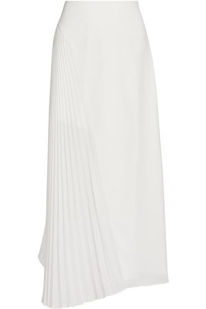 AMUR Women's Pleated Panel Handkerchief Skirt - - Size 0