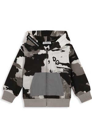 Dolce & Gabbana Hoodies - Baby Boy's Camouflage Hoodie - Camouflage - Size 12 Months