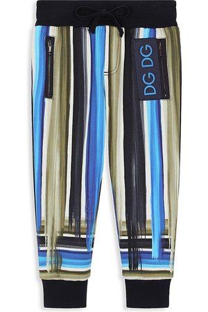 Dolce & Gabbana Little Boy's & Boy's Brushstroke Joggers - Multi - Size 12
