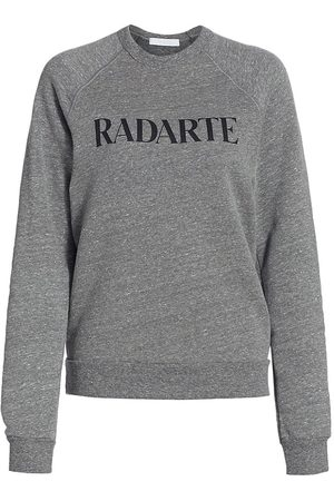 RODARTE Women's Radarte Crewneck Sweatshirt - Grey - Size Medium