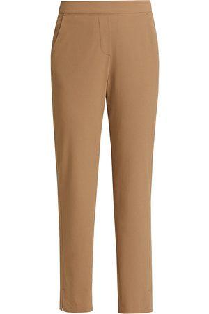 NIC+ZOE Women's Lightweight Woven Pants - Cork - Size 8