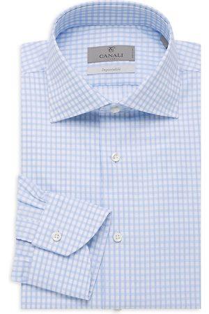 CANALI Women's Modern-Fit Dress Shirt - - Size 15