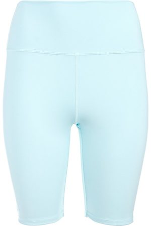 ALICE+OLIVIA Women's Aaron High-Rise Biker Shorts - Powder - Size XS