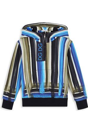 Dolce & Gabbana Little Boy's & Boy's Stripe Hoodie - Multi - Size 12