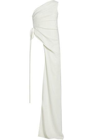 Halston Heritage Women's Melissa Asymmetrical Side-Draped Top - Pristine - Size 4