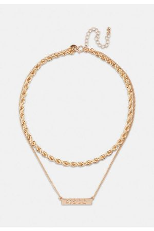 Missguided Look Msgd Rope Layered Necklace