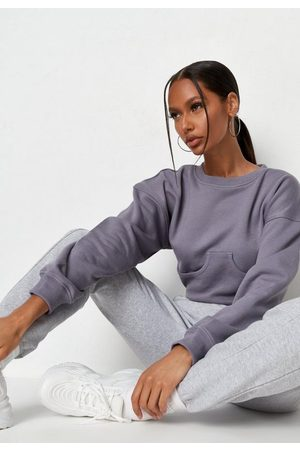 Missguided Tall Cropped Corset Sweatshirt