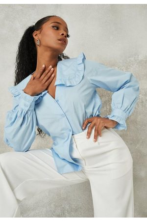 Missguided Tall Frill Collared Shirt