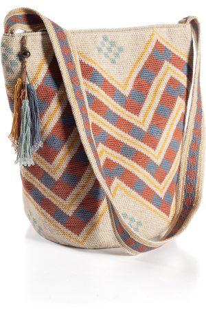 Peruvian Connection Chevron Pima Cotton Bag