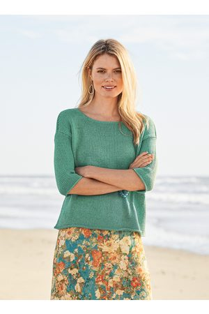 Peruvian Connection Wanderer Pima Cotton Pullover