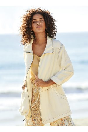 Peruvian Connection Washed Linen Anorak