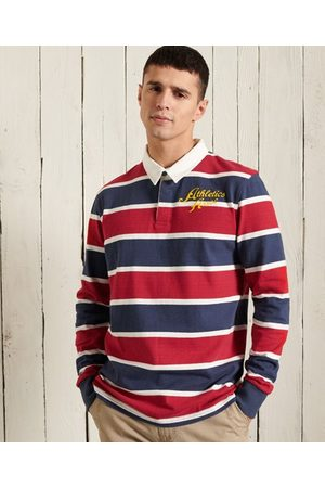 Superdry Men Long sleeves - Long Sleeve Jersey Rugby Shirt