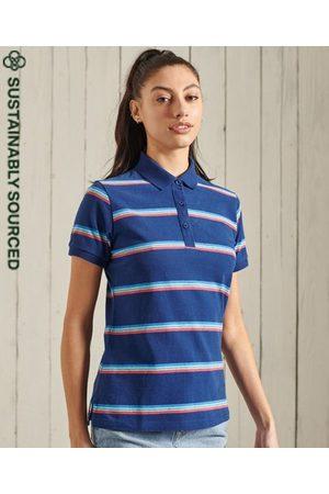 Superdry Academy Stripe Polo Shirt