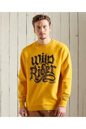 Superdry Men High Necks - Boho Rock Crew Neck Sweatshirt