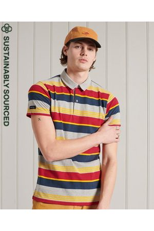 Superdry Organic Cotton Cali Stripe Polo Shirt