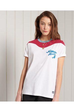 Superdry Collegiate Colour Block T-Shirt