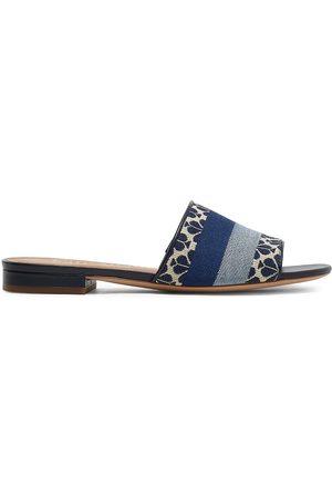 Kate Spade Women's Boardwalk Jacquard Slides - - Size 7.5 Sandals