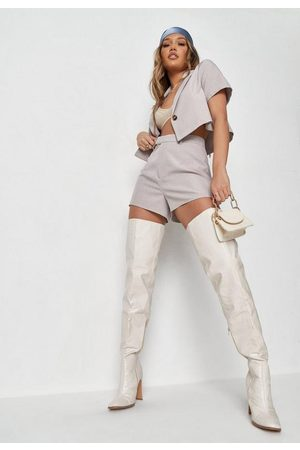 Missguided Co Ord High Cut Tailored Shorts
