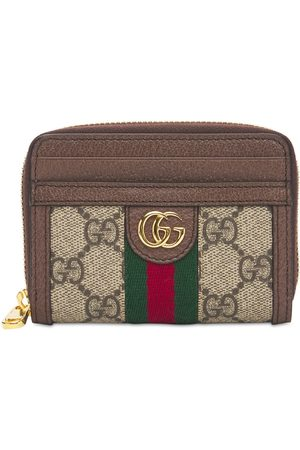 Gucci Ophidia Gg Canvas Card Case Wallet