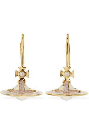 Vivienne Westwood Simonetta Faux Pearl Drop Earrings