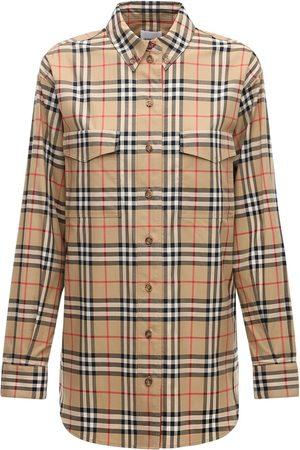 Burberry Turnstone Icon Stretch Poplin Shirt