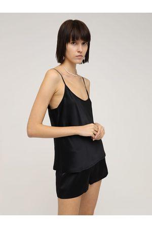 La Perla Women Shorts - Silk Satin Shorts