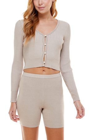 WAYF Plus Size Women's '98 Crop Cardigan