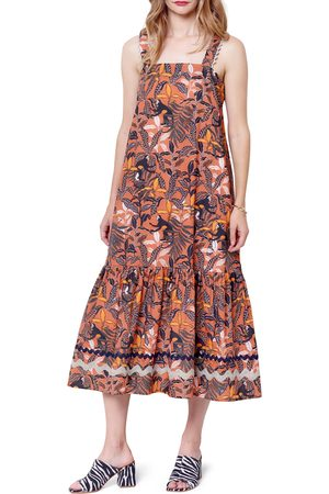 Corey Lynn Calter Women's Martina Tiered Midi Dress