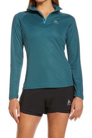 Odlo Women's Essential Half Zip Midlayer Running Top
