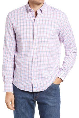 Johnnie-o Men's Burt Check Button-Down Shirt